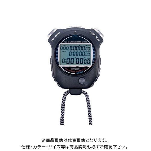 シチズン ストップウォッチ058 LC058-A02 完売 黒 税込