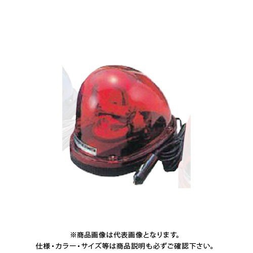 (直送品)安全興業 車載用回転灯 24V 赤 (10入) MG24V-R