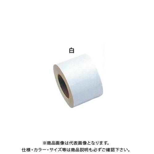 (運賃見積り)(直送品)安全興業 反射シート7 白 80mm×46M (1入) YT-7