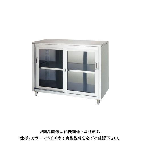 (直送品)(受注生産)シンコー ステンレス保管庫(一段式) 1500×450×950 LAG-15045