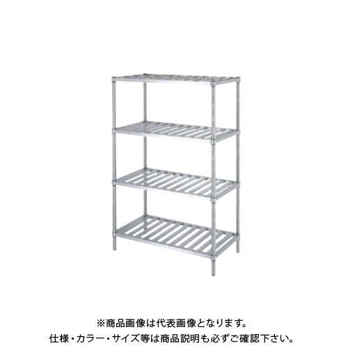 (直送品)(受注生産)シンコー ステンレスラック (スノコ棚4段) 1788×338×1800 RSN4-18035