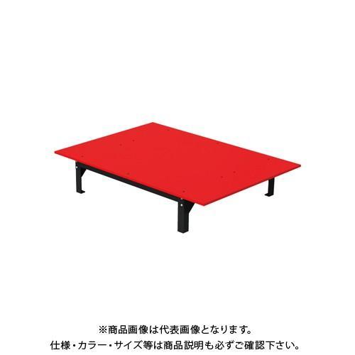 (直送品)デンサン DENSAN バンキャビネット(テーブル) 1400×1000×265mm SCT-T09