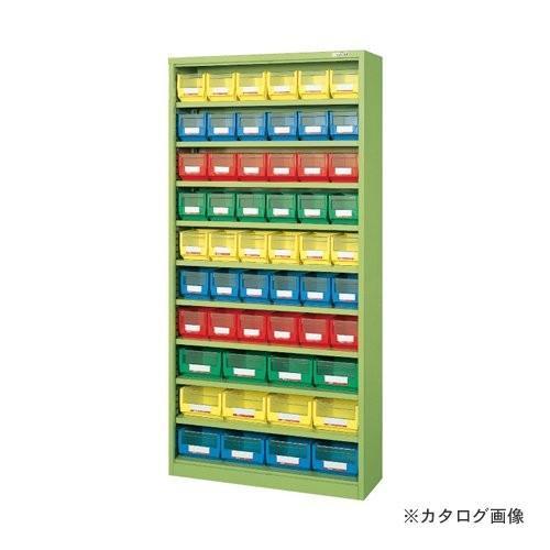 (直送品)サカエ SAKAE コンテナラックケース・扉付 NCR-18D