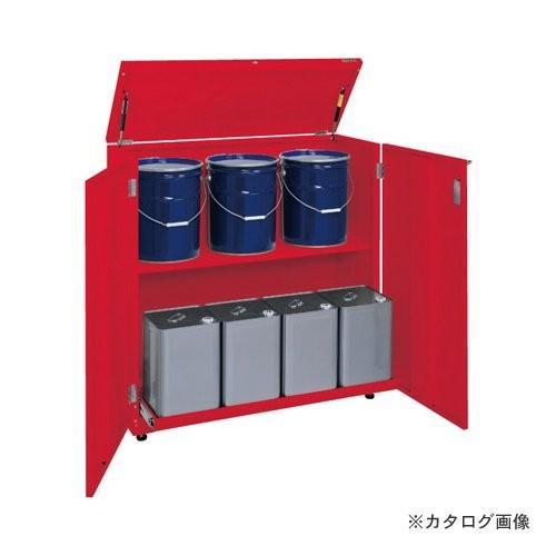 (直送品)サカエ SAKAE 一斗缶保管庫 KU-ITKND