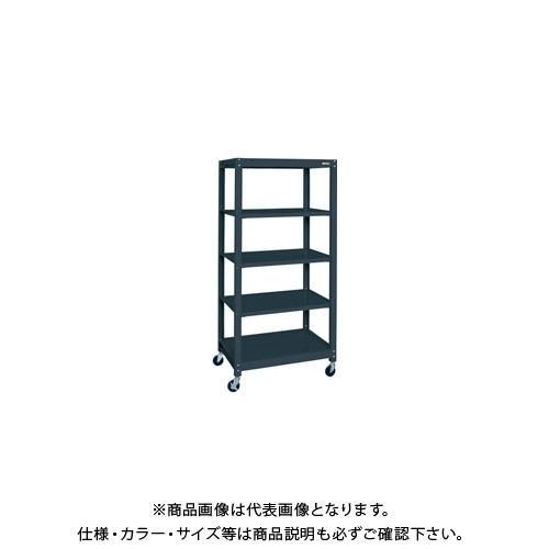 (直送品)サカエ スチールラック(キャスター付・ゴム車) SLN-9055RD