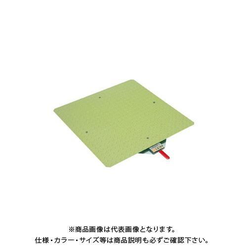 (直送品)サカエ クルクル回転盤・スチール製・スチール天板 KS-40ST