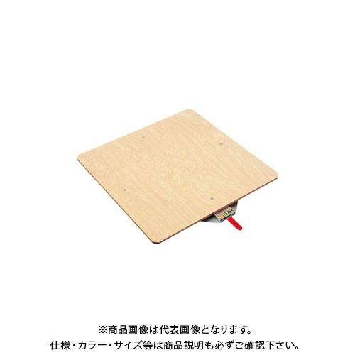 (直送品)サカエ クルクル回転盤・スチール製・合板天板 KS-50T