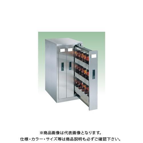 (直送品)サカエ ステンレス薬品保管庫 SU-3BS