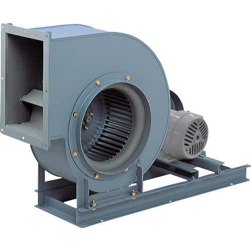 (直送品)テラル シロッコファン(多翼送風機)片吸込片持形ベルト駆動式 吐出口外径248×180mm CLF6-NO.1.25-RS-DI-0.2