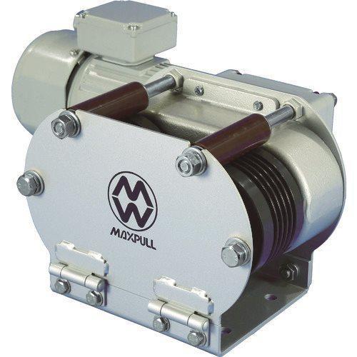 (運賃見積り)(直送品)マックスプル 電動往復牽引エンドレスウインチ EMX-150