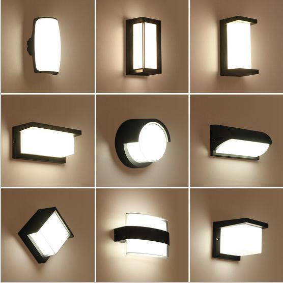 北欧 壁掛け照明 防水 防雨外壁 ブラケットライト廊下 階段 玄関照明 庭園 LED内藏 照明器具 ウォールライト 安心と信頼 壁掛けライト 工事必要 門灯 ベランダ 信憑