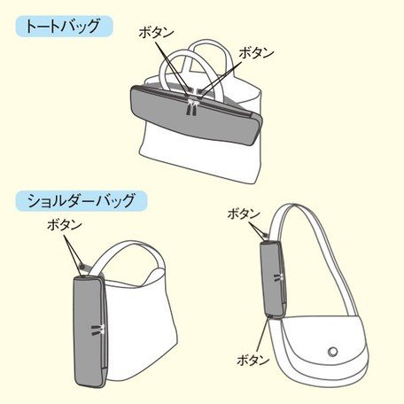 傘ケース メンズ カバンに外付け 濡れた傘のための傘袋 マーナ hacobel 吸水傘ケース 2Way Biz|kichijiroshop|03