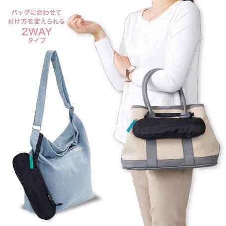 傘ケース レディース 吸水 カバンに外付け マーナ hacobel 吸水傘ケース 2Way Mini  日本国内正規品 マーナ 折り畳み傘 ケース 傘袋 マイクロファイバー|kichijiroshop|02