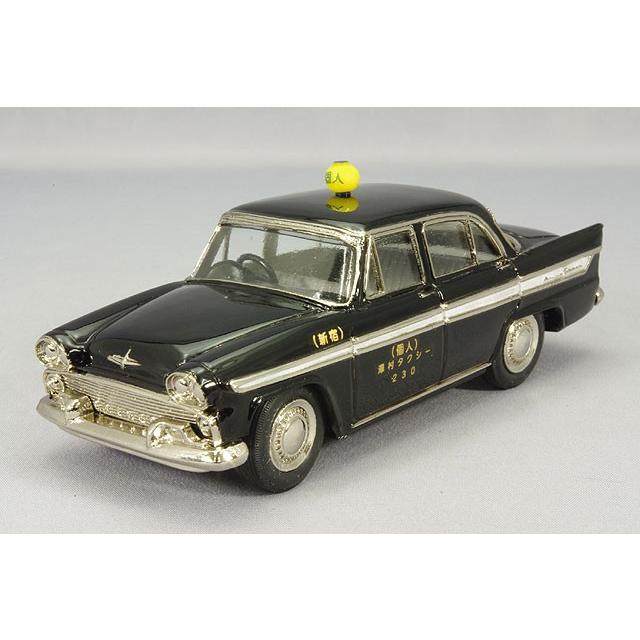 ☆ ファインモデル 1/43 プリンス スカイライン デラックス 1960 日個連 個人タクシー ブラック