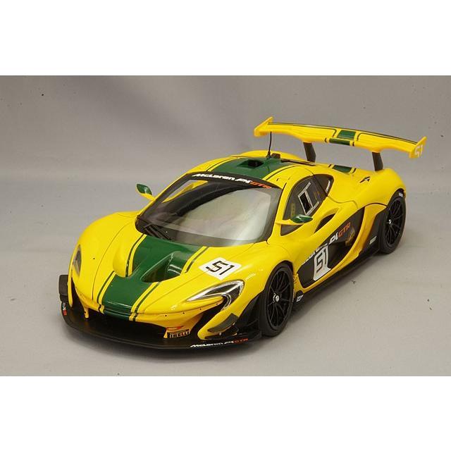 ALMOSTREAL 1/18 マクラーレン P1 GTR ジュネーブ オートショー 2015 イエロー/グリーン