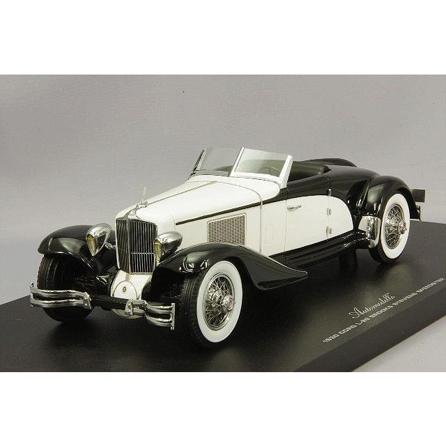 ☆ Automodello 1/24 コード L-29 スピードスター 1930 ブラック/ホワイト