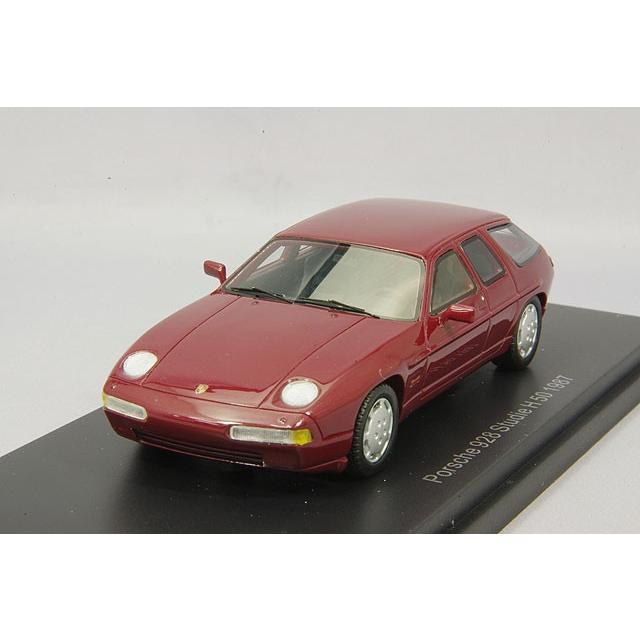 ☆ BoS Models 1/43 ポルシェ 928 H50 コンセプト 1987 メタリックダークレッド