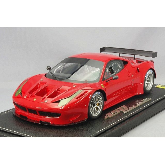 ☆ BBR 1/18 フェラーリ 458 イタリア GT2 レースレッド322 (レッド)