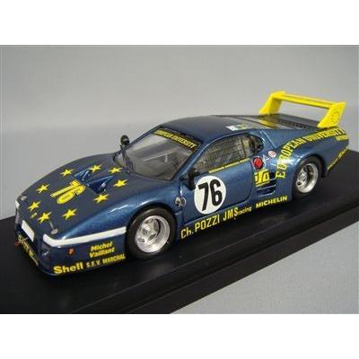 BEST 1/43 フェラーリ 512 BB LM 1980 ルマン24H 総合10位 #76 J.Xhenceval/P.デュドネ/H.Regout