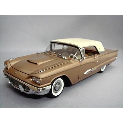 ☆ ダンバリーミント 1/24 1959 フォード サンダーバード クーペ ブロンズ/ホワイト