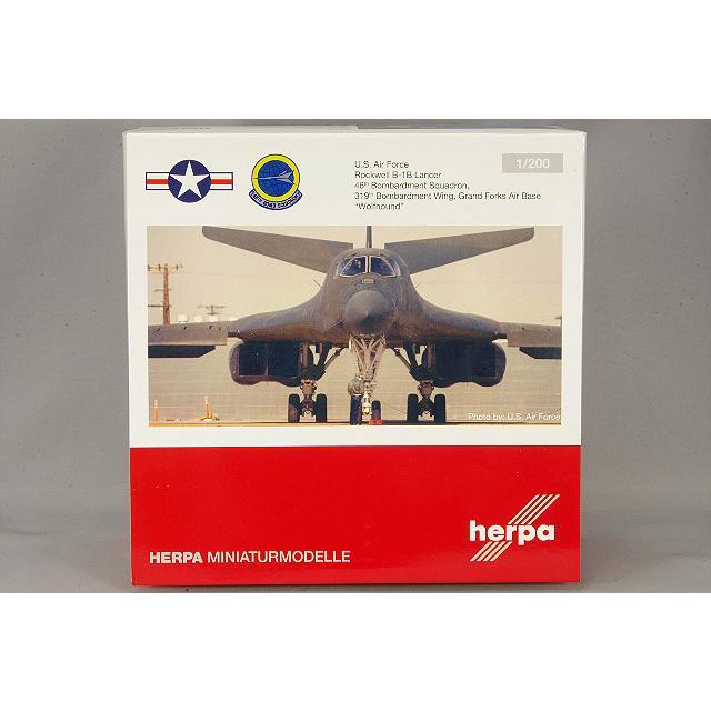 ヘルパ 1/200 B-1B アメリカ空軍 第46爆撃飛行隊 第319爆撃航空団 グランドフォークス空軍基地|kidbox|03