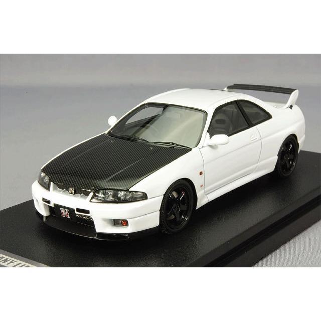 ,☆ 【アイアイアドカンパニー/新宿おもちゃカーニバル特注】 hpi MIRAGE 1/43 日産 スカイライン GT-R R33 V-spec N1 ホワイト
