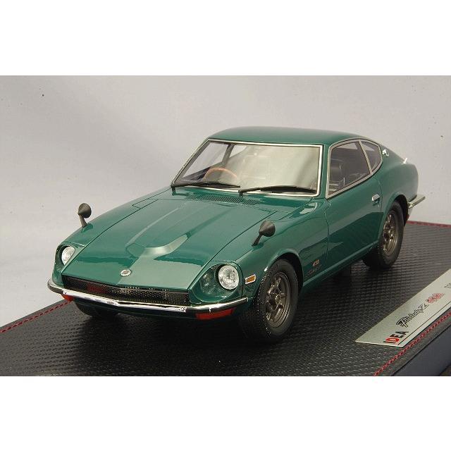 ☆* IDEA (イデア) 1/18 日産 フェアレディ Z432 (PS30) 1969 グリーン