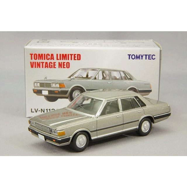 TOMICA LIMITED VINTAGE LV-N112b 1//64 NISSAN CEDRIC 200E TURBO SGL EXTRA 1981
