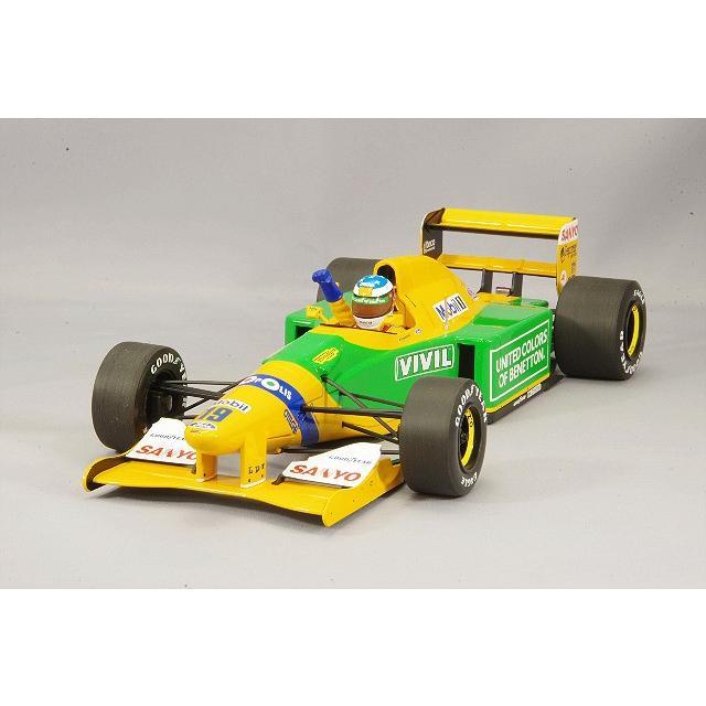 ☆ ミニチャンプス 1/18 ベネトン フォード B192 1992 F1 ベルギーGP ウィナー #19 M.シューマッハ