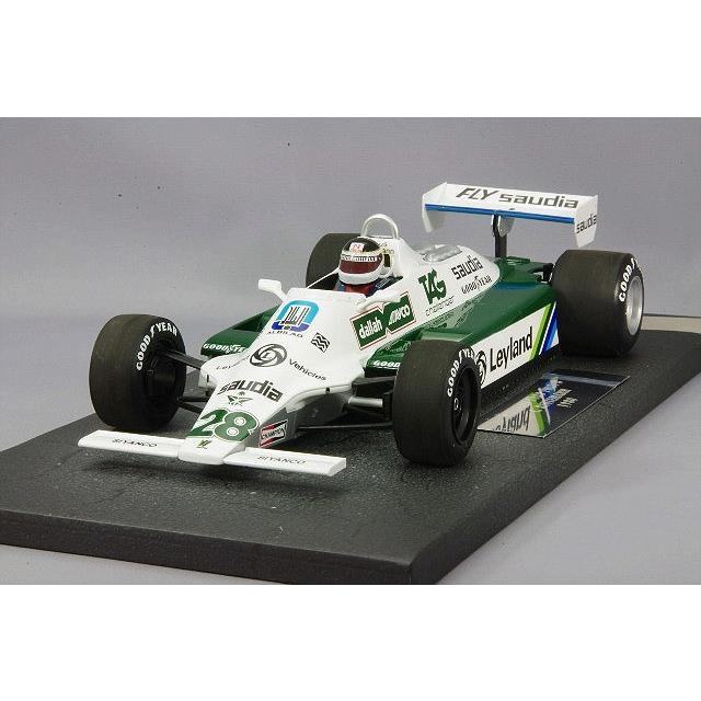 ☆ ミニチャンプス 1/18 ウィリアムズ フォード FW07B 1980 F1 #28 C.ロイテマン 【レジン製】