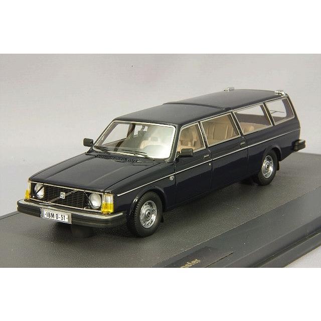 MATRIX 1/43 ボルボ 265 トランスファー ロングホイールベース 1978 ブルー