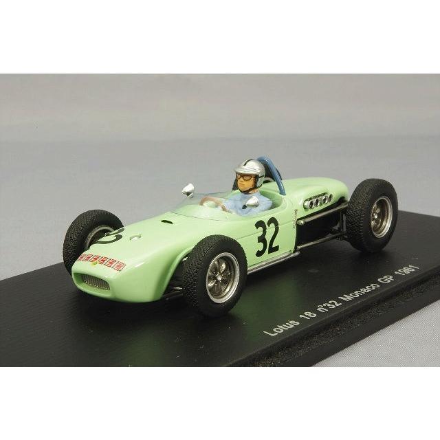 ☆ スパーク 1/43 ロータス 18 1961 F1 モナコGP #32 C.アリソン