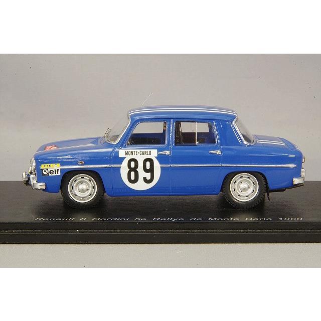 MONTE CARLO 1969 RENAULT R8 GORDINI SPARK S5562 1//43