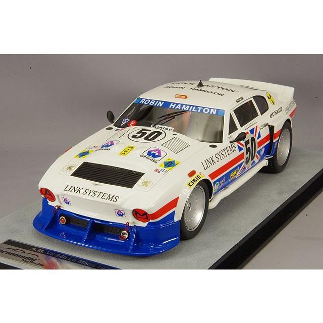 ☆ テクノモデル 1/18 アストンマーチン AM V8 1979 ルマン24H #50 R.ハミルトン/M.Salmon