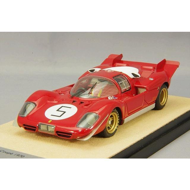 ☆ テクノモデル 1/43 フェラーリ 512S クーペ 1970 ルマン24H テスト #5 J.イクス/P.シェティ