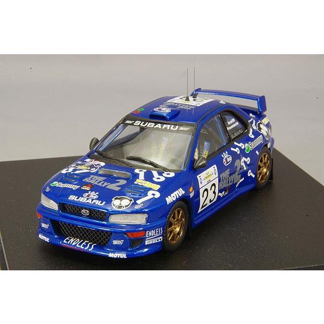 ☆ トロフュー 1/43 スバル インプレッサ WRC99 2000年 アクロポリスラリー 4位 #24 新井敏弘/R.フリーマン 【再入荷】