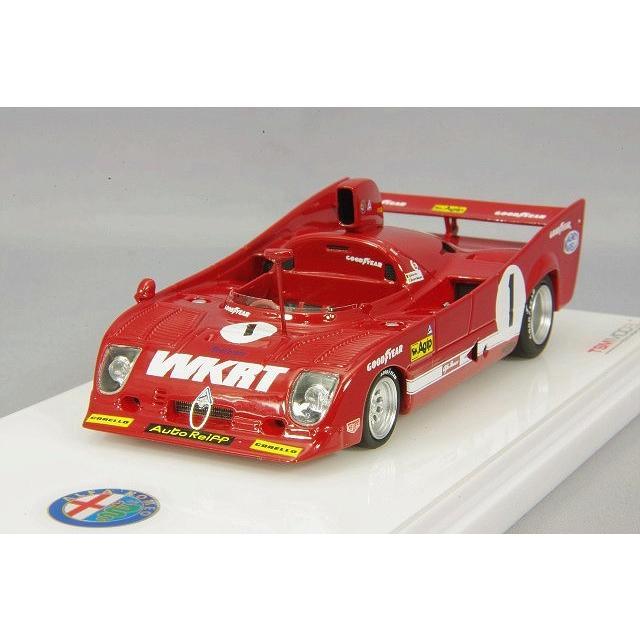 ☆ トゥルースケール 1/43 アルファロメオ T33 TT 12 1975 スパ 1000km #1 J.イクス/A.メルツァリオ