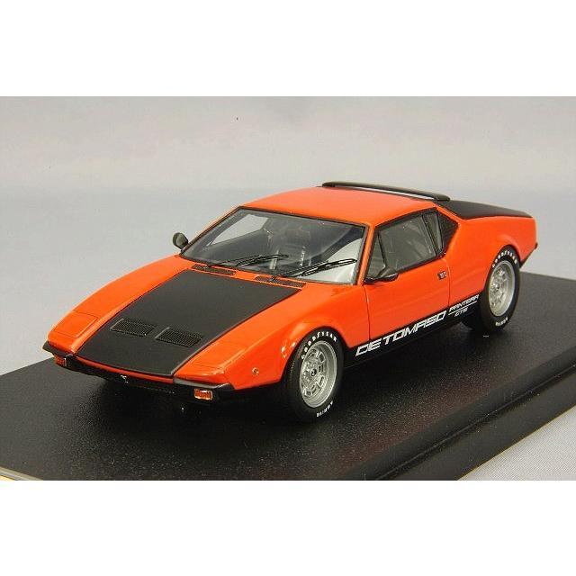 ・☆ VISION 1/43 デ トマソ パンテーラ GTS 1973 オレンジ/ブラック