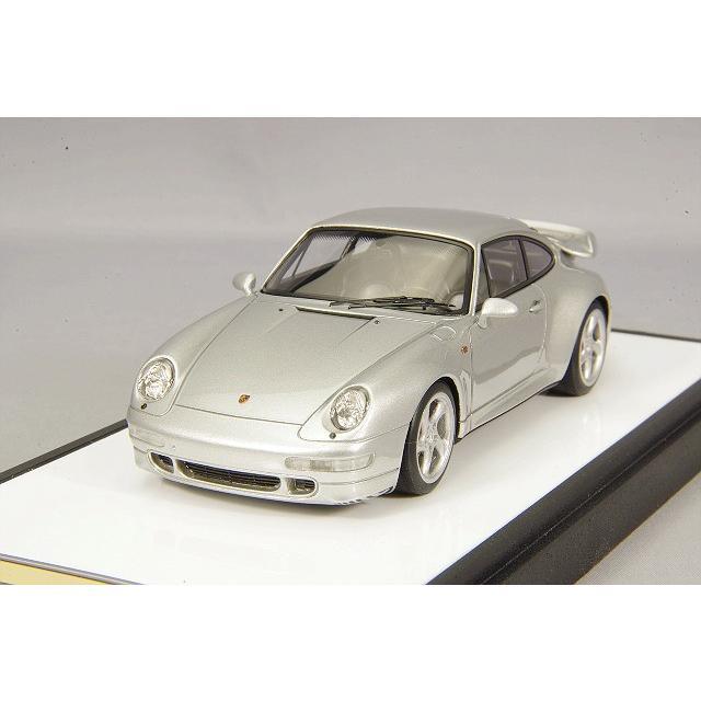☆ VISION 1/43 ポルシェ 911 (993) ターボ 1995 シルバー