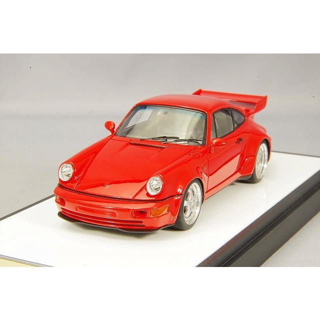 ☆ VISION 1/43 ポルシェ 911 (964) カレラ RS 3.8 1993 ガーズレッド