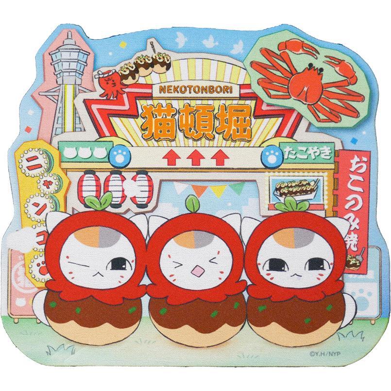 特別セール品 夏目友人帳 ニャンコ先生ショップ オリジナル たこ焼きアート マウスパッド 激安☆超特価