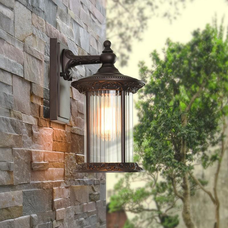 壁掛けライト レトロ ラケットライト ポーチライト ポーチライト アンティーク ウォールライト 玄関灯 防水 ガーデン 壁掛け照明 門灯 屋外 外灯 表札灯 庭園灯 照明