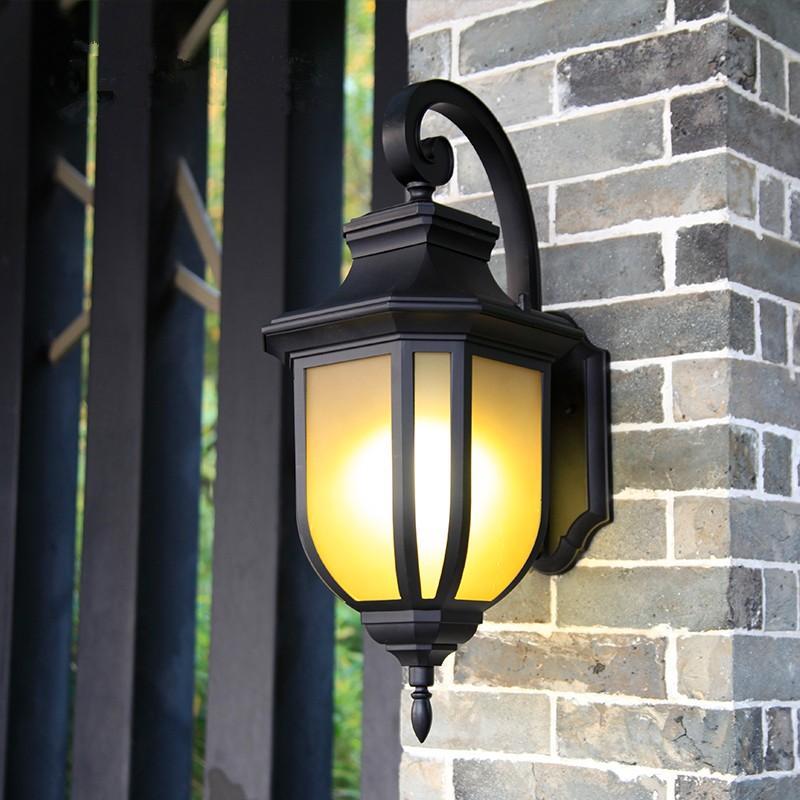 壁掛け灯 ラケットライト 玄関照明 玄関照明 ガーデンライト レトロ 壁掛け照明 ウォールライト ポーチライト 照明器具 壁掛けライト アンティーク 防水 外灯 庭園灯 門灯