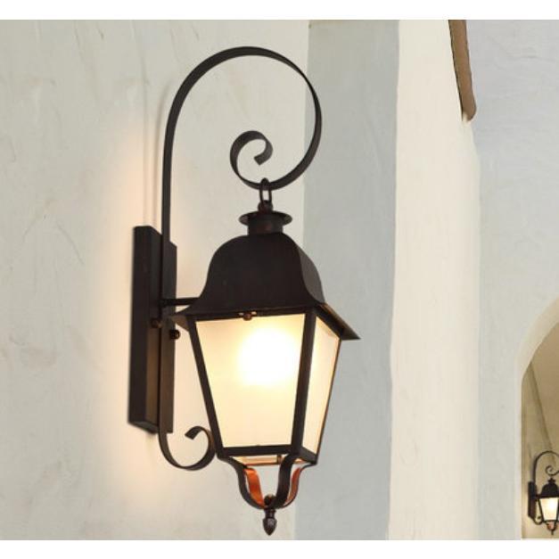 ラケットライト 門灯 屋外 照明 器具 壁掛け 照明 外灯 外灯 ポーチライト 玄関灯 レトロ 防水 庭園灯 ウォールライト ガーデン アンティーク風 廊下 壁掛けライト