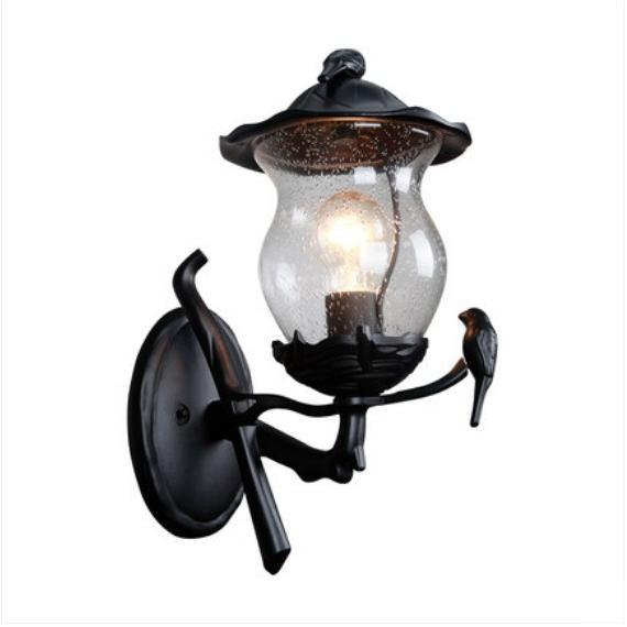 壁掛け照明 外灯 ポーチライト 玄関照明 レトロ ラケットライト ウォールライト アンティーク 門灯 防水 防水 ガーデン 壁掛けライト 庭園灯 マリンランプ 壁付け