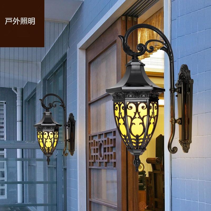 壁掛けライト 照明 照明 外灯 ラケットライト レトロ 玄関照明 壁掛け照明 防水 アンティーク風 ポーチライト庭園灯 屋外用 ウォールランプ ガーデン 室内 廊下