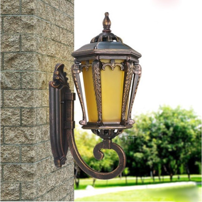 外灯 壁掛け照明 ウォールライト ウォールライト ラケットライト壁掛けライト ポーチライト アンティーク 防水 照明器具 壁掛け灯 レトロ ガーデンライト庭園灯 玄関照明 門灯