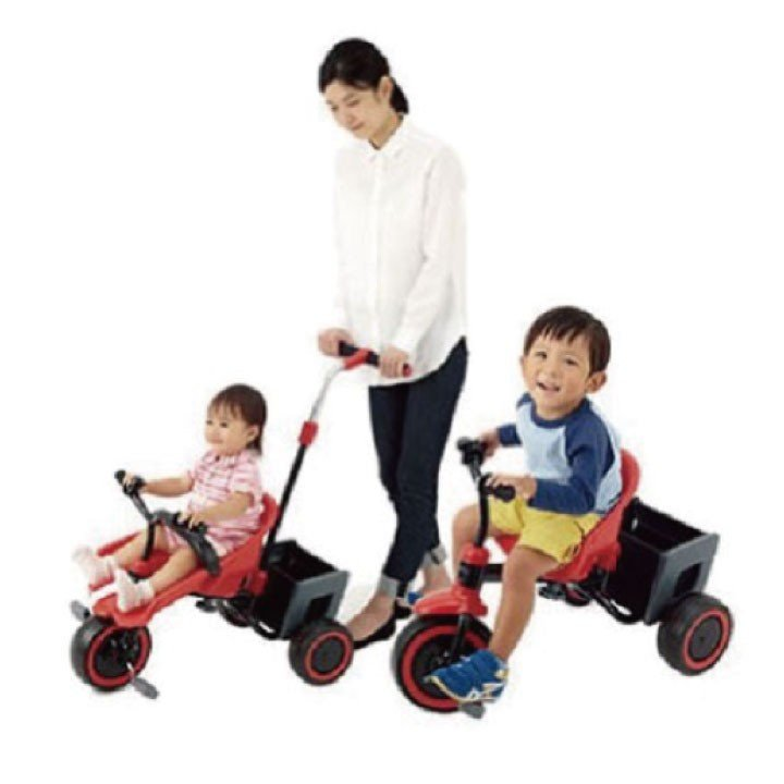 三輪車 エーシート 一人で 乗れない お子様に 手押しで 乗ってる 感覚を 学べる 子供 誕生日 プレゼント ギフト お祝い 贈り物 入園祝い