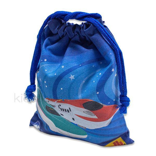 プラレール 巾着S HPL3-631 約18×22cm 小物入れ 袋 売り込み 日本製 きんちゃく 新作通販