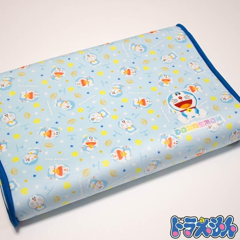 中古 ドラえもん DORAEMON ソフト低反発まくら カバー付き 高さ4〜5cm 約25×35cm 今季も再入荷 子供用枕